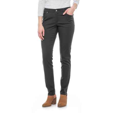 Pendleton Malin TENCEL® Pants - Mid Rise, Straight Leg (For Women) in Charcoal - Closeouts