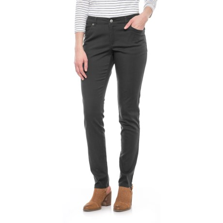 Pendleton Malin TENCEL® Pants - Mid Rise, Straight Leg (For Women) in Charcoal