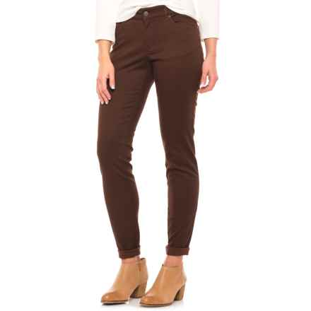 Pendleton Malin TENCEL® Pants - Mid Rise, Straight Leg (For Women) in Chicory Coffee - Closeouts
