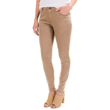 Pendleton Malin TENCEL® Pants - Mid Rise, Straight Leg (For Women) in Dune - Closeouts