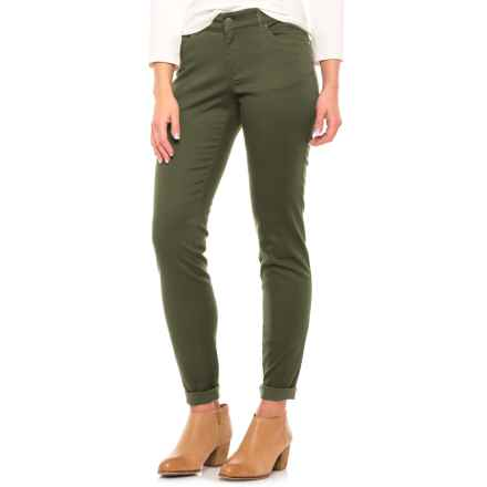 Pendleton Malin TENCEL® Pants - Mid Rise, Straight Leg (For Women) in Forest Night - Closeouts