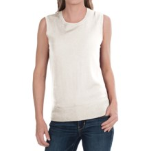 Pendleton Mariana Shirt - Merino Wool, Sleeveless (For Women) in Ivory - Closeouts