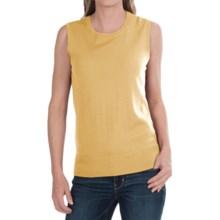 Pendleton Mariana Shirt - Merino Wool, Sleeveless (For Women) in Yellow - Closeouts