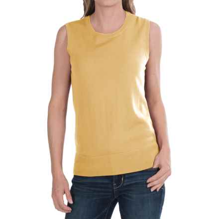 Pendleton Mariana Shirt - Merino Wool, Sleeveless (For Women) in Yellow - Closeouts