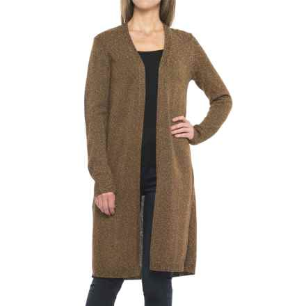 Pendleton Marled Long Cardigan Sweater (For Women) in Chicory Coffee Twist - Closeouts