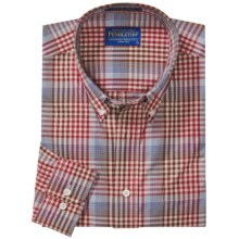Pendleton Metro Shirt - Wrinkle Resistant, Long Sleeve (For Men) in Red - Closeouts