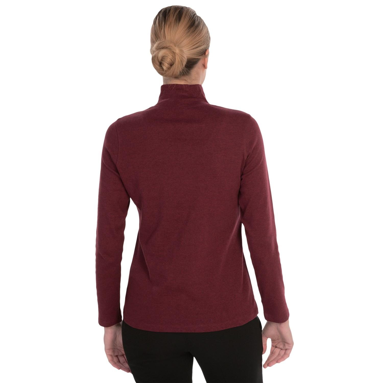 Pendleton Mock Neck Shirt For Women Save 49