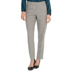 Pendleton Modern Fit Ultra 9 Slim Pants - Stretch Wool (For Women) in Navy