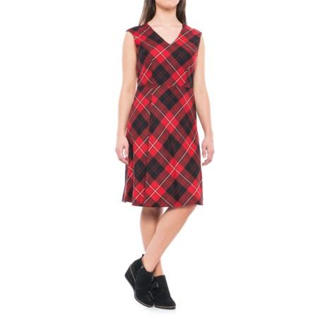 Pendleton Natalie Plaid Wool Dress - Sleeveless (For Women) in Cunningham Tartan