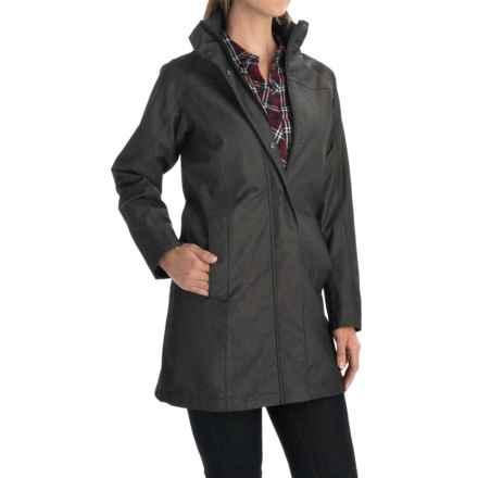 Pendleton National Park San Juan Rain Coat - Waterproof (For Women) in Denim - Overstock