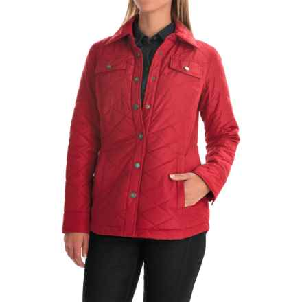 Pendleton National Park Yosemite Quilted Jacket (For Women) in Red - Overstock