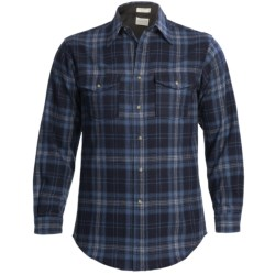 Pendleton Outdoor Shirt - Wool, Long Sleeve (For Men) in Red/Brown/Green Plaid