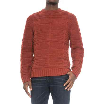 Pendleton Painted Hills Sweater - Lambswool (For Men) in Red - Closeouts