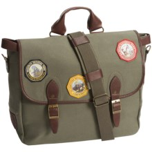Pendleton Park Messenger Bag (For Men and Women) in Olive - Closeouts