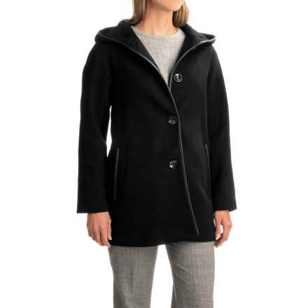 Pendleton Pelham Bay Duffle Coat - Wool, Hooded (For Women) in Black - Closeouts