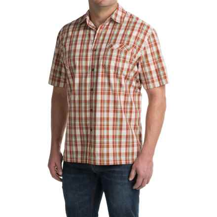 Pendleton Plaid Surf Shirt - Short Sleeve (For Men) in Golden - Closeouts