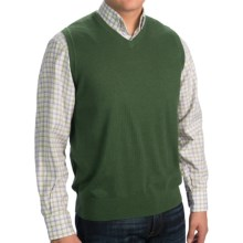 Pendleton Portland Sweater Vest - Merino Wool (For Men) in Rainforest - Closeouts
