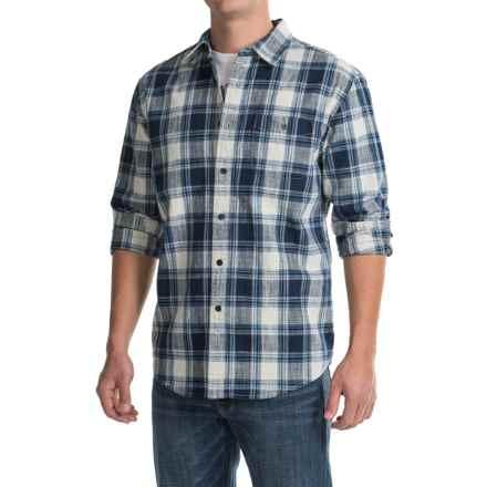 Pendleton Preston Indigo Plaid Shirt - Long Sleeve (For Men) in Indigo - Closeouts
