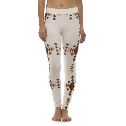 Pendleton Printed Jersey Leggings (For Women) in Off White - Closeouts