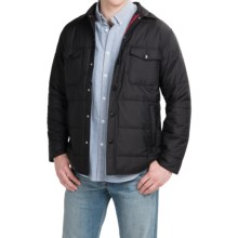 Pendleton Quilted Outdoor Shirt Jacket - Insulation (For Men) in Black - Closeouts