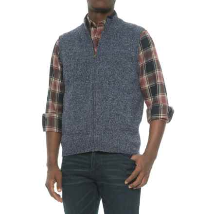Pendleton Reversible Territory Vest (For Men) in Twilight Blue Heather - Closeouts
