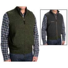 Pendleton Reversible Territory Vest - Full Zip (For Men) in Evergreen/Black - Closeouts