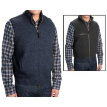 Pendleton Reversible Territory Vest - Full Zip (For Men) in Indigo Heather - Closeouts