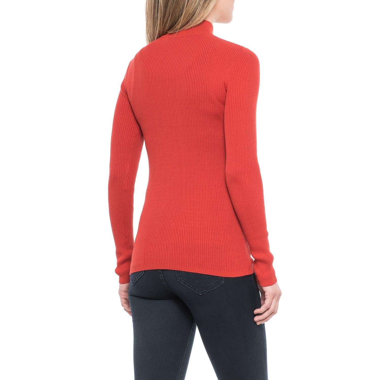Pendleton Rib Mock Neck Shirt For Women Save 66