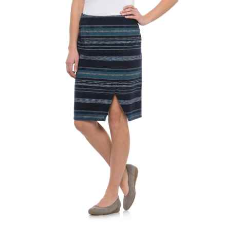 Pendleton River Crossover Skirt (For Women) in Navy Multi Stripe - Closeouts
