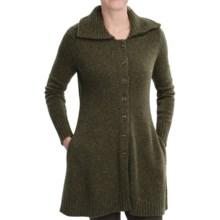 Pendleton Salem Sweater Coat - Merino Wool Blend (For Women) in Olive - Closeouts