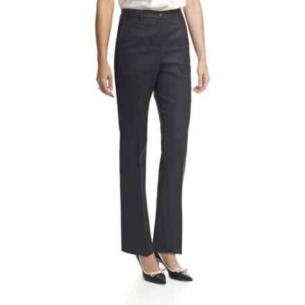 Pendleton Seasonless True Fit Trouser Pants - Wool (For Women) in Black - Closeouts