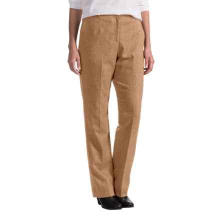 Pendleton Seasonless True Fit Trouser Pants - Wool (For Women) in Camel Mix - Closeouts