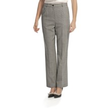 Pendleton Seasonless True Fit Trouser Pants - Wool (For Women) in Charcoal - Closeouts