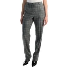 Pendleton Seasonless True Fit Trouser Pants - Wool (For Women) in Grey Mix - Closeouts