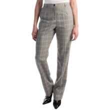 Pendleton Seasonless True Fit Trouser Pants - Wool (For Women) in Plaid - Closeouts