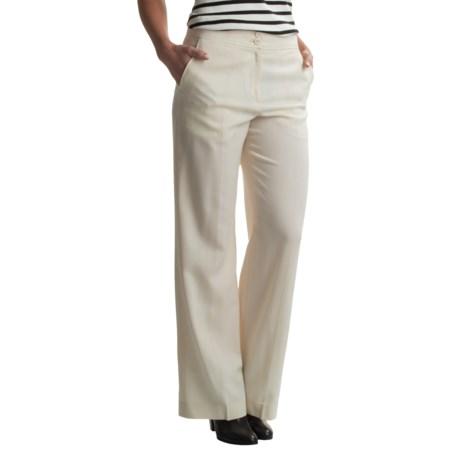 Pendleton Seasonless Wool Chic Street Pants (For Women) in Cream