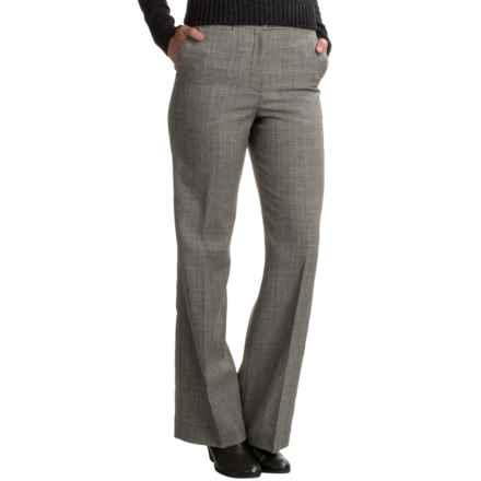 Pendleton Seasonless Wool Chic Street Pants (For Women) in Grey/Black Plaid - Closeouts