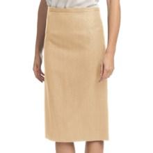 Pendleton Seasonless Wool Lana Skirt (For Women) in Desert Camel - Closeouts