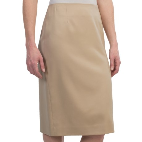 Pendleton Seasonless Wool Madison Skirt (For Women) in Desert Camel