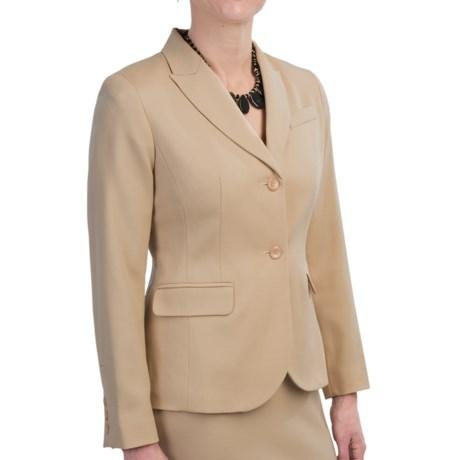 Pendleton Seasonless Wool Suit Jacket (For Women) in Desert Camel