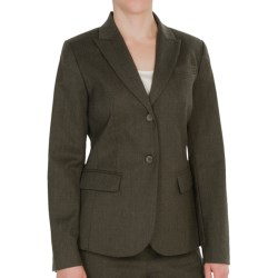 Pendleton Seasonless Wool Suit Jacket (For Women) in Olive Mix