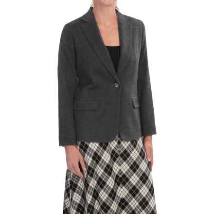 Pendleton Seasonless Worsted Wool Blazer (For Women) in Charcoal - Closeouts