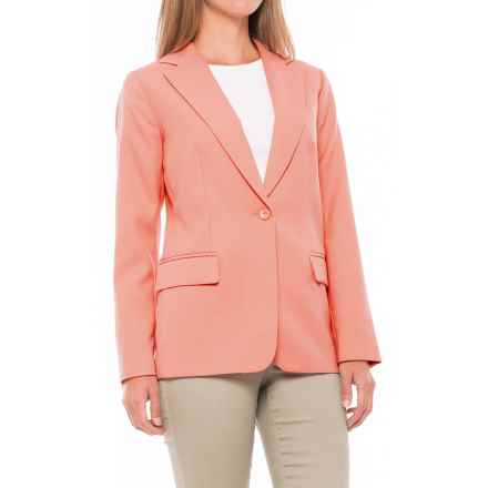 Pendleton Seasonless Worsted Wool Blazer (For Women) in Peach - Closeouts