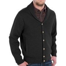 Pendleton Shawl Collar Cotton Knit Jacket (For Men) in Black - Closeouts