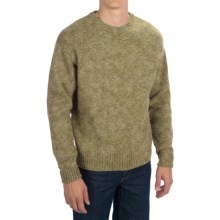 Pendleton Shetland Washable Wool Sweater - Crew Neck (For Men) in Birch - Closeouts