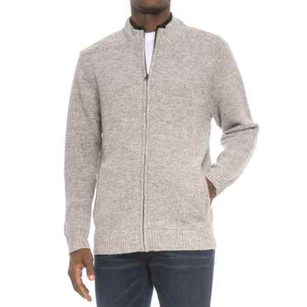 Pendleton Shetland Wool Cardigan Sweater (For Men) in Grey Heather - Closeouts