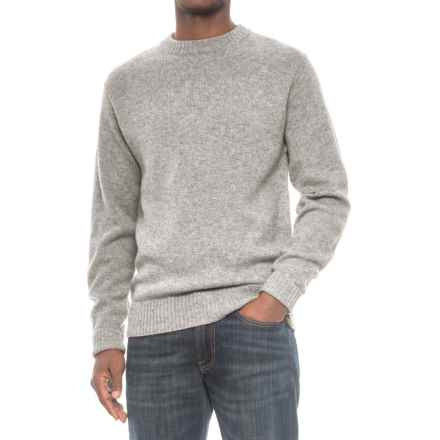 Pendleton Shetland Wool Sweater - Crew Neck (For Men) in Grey Heather - Closeouts