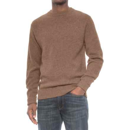 Pendleton Shetland Wool Sweater - Crew Neck (For Men) in Hazelnut - Closeouts