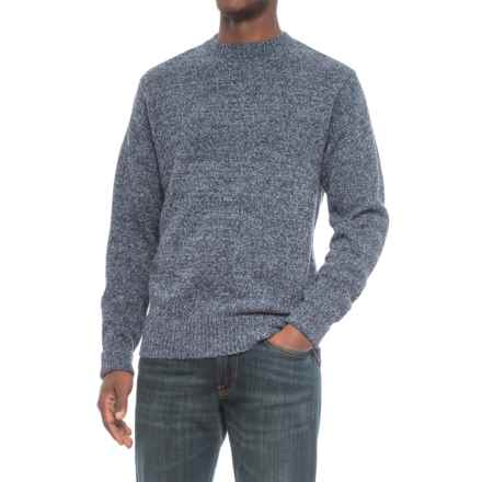 Pendleton Shetland Wool Sweater - Crew Neck (For Men) in Twilight Blue Heather - Closeouts