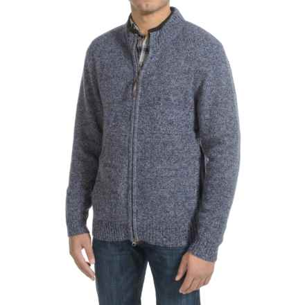 Pendleton Shetland Zip-Front Cardigan Sweater (For Men) in Twilight Blue Heather - Closeouts